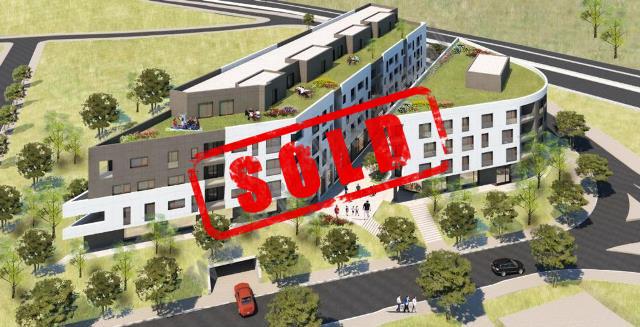 Apartamente ne shitje ne rrugen Hiqmet Buzi , ne nje kompleks pallatesh ne ndertim me dy godina fqin