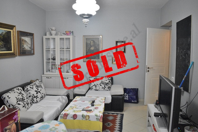 One bedroom apartment for sale in Todi Shkurti street in Tirana. The apartment is situated on the s