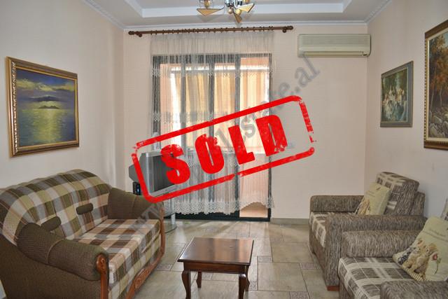 One-bedroom apartment for sale in Bogdani street near Kavaja street in Tirana. It's on the fift